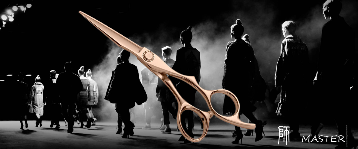 AK05B GOLD JAPAN HAIR SCISSOR