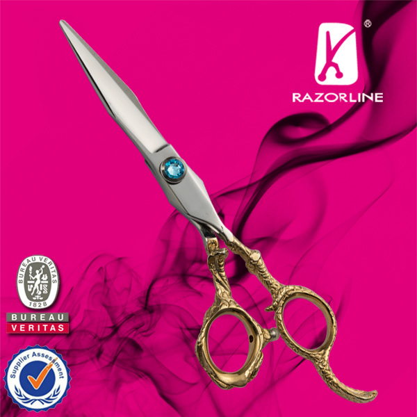 Razorline CK37 New style Professional Hairdressing Scissor with WCA and BSCI certificate