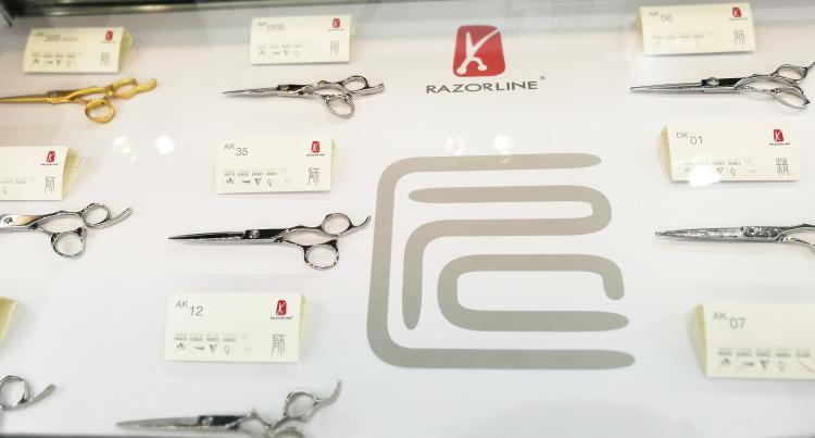 Razorline hair scissor